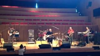 Soundcheck   Aldo Tagliapietra Band & David Jackson - 30th May 2015, Mexico City - YouTube (#Celebration Tour Special)