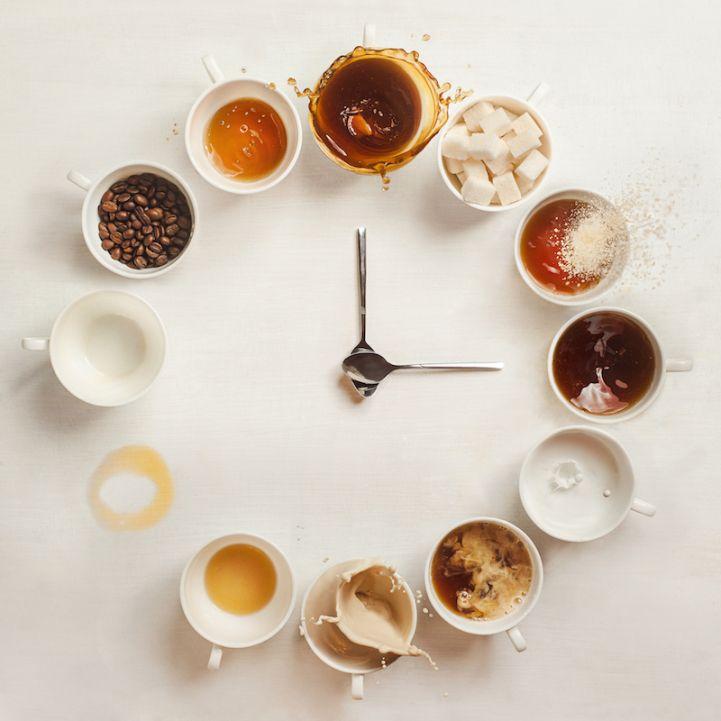 It's Always Coffee Time by still-life photographer Dina Belenko