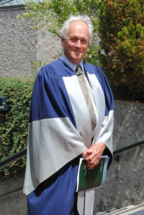 Tuesday, June 3, 2pm Honorary Doctor of Laws: Trent Alum Richard Johnston