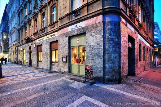 Mlsná kavka | nekuřácká vegetariánská restaurace Praha Florenc