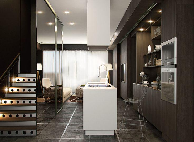 Therelatablepics GARIS MAMO Studio Jasa Desain Interior Rumah Kitchen Set Gambar 3d Animasi Animasi3
