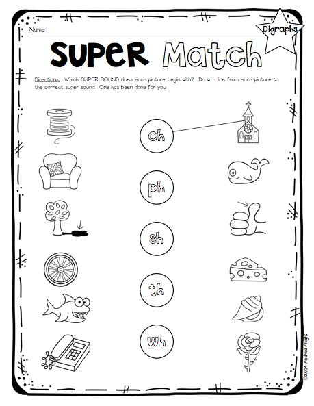 Best  Digraphs Worksheets Ideas On   Phonics