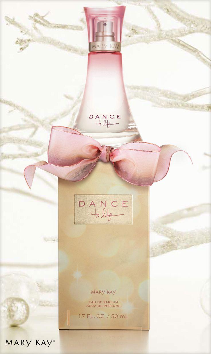 Dance to Life, uma fragrância criada especialmente para celebrar os 50 anos de Mary Kay.