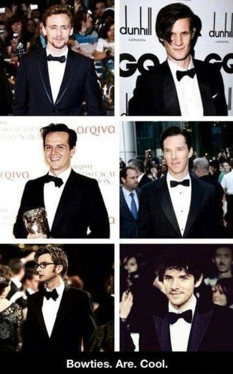 proof that bow ties are cool