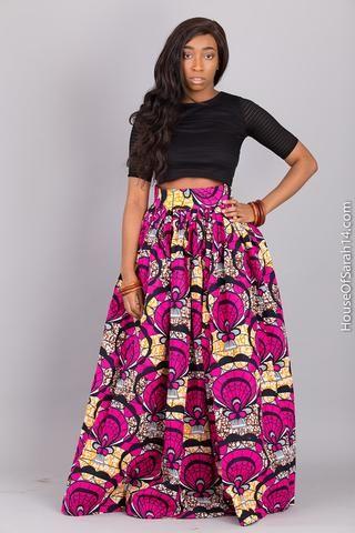 Zokora Maxi Skirt - HouseOfSarah14