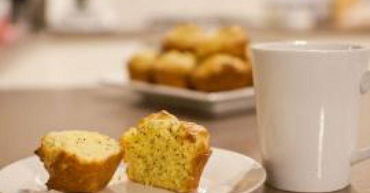 Whole Orange & Poppyseed Muffins