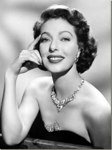 LorettaYoung, actress. One of Hollywood's most glamorous personalities.