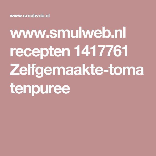 www.smulweb.nl recepten 1417761 Zelfgemaakte-tomatenpuree