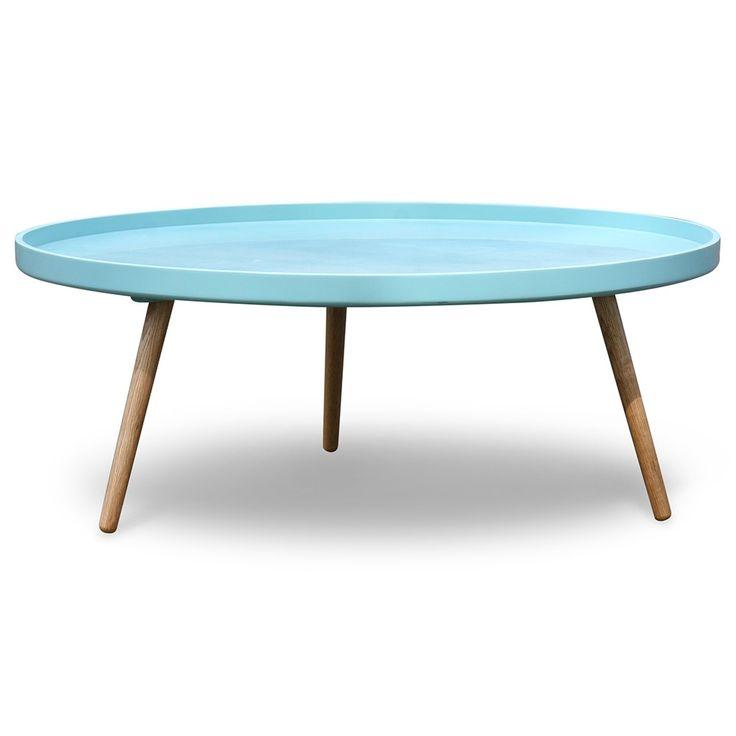 Retro salontafel rond Radius Makkii | Zen Lifestyle