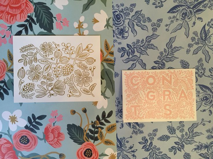 Mix n match with Rifle paper co