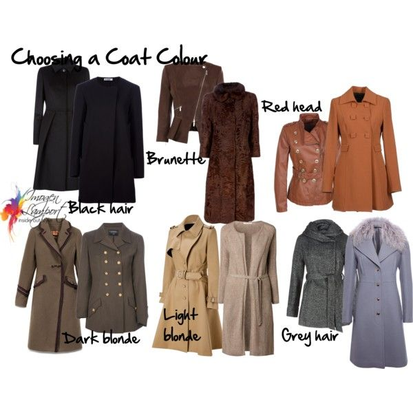 """Choosing coat colour"" by imogenl on Polyvore"