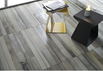 Urban Wood digital-printed porcelain tile offers a more realistic, high-definition hardwood look for your home flooring.