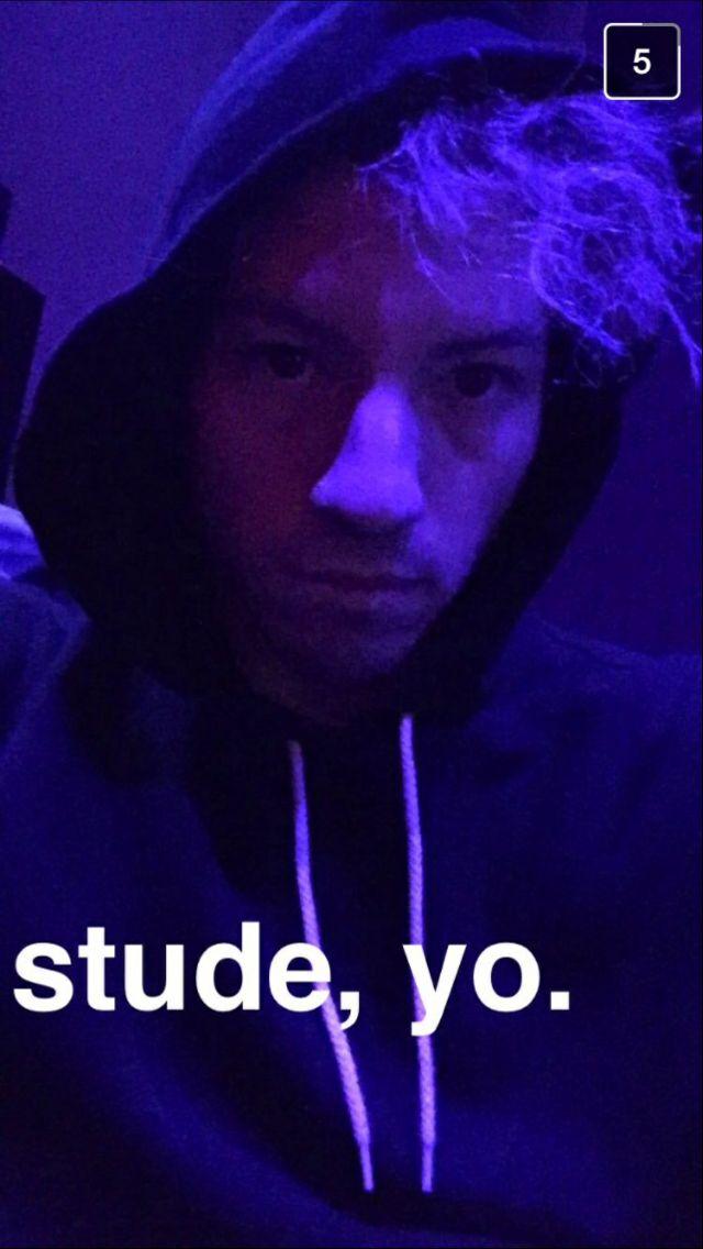 Josh dun on snapchat