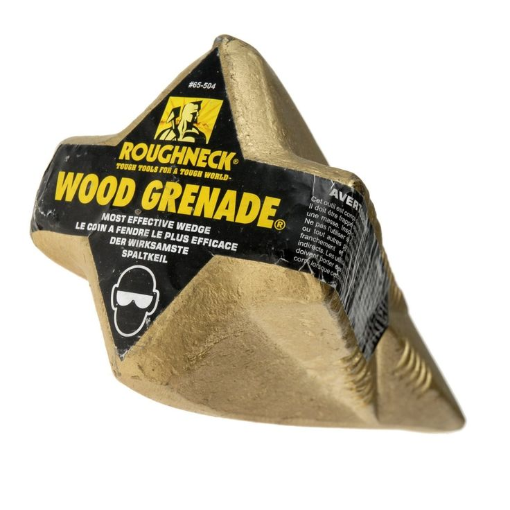 The Roughneck Wood Grenade is a favourite of McGuire's Hardware this month.   This amazing product splits wood with ease. Take a look at the demonstration clip from YouTube: