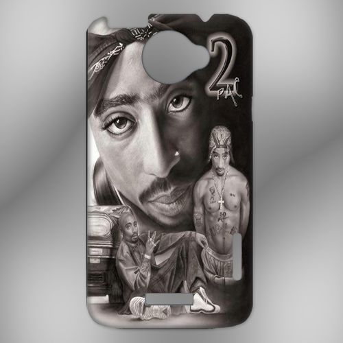 2Pac For HTC One X Case, Cover   HERLIANCASE - Accessories on ArtFire