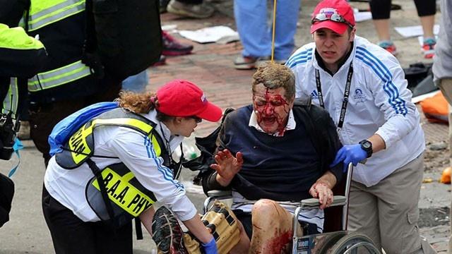 Boston Marathon Photo Helps Son Find Two Injured Parents