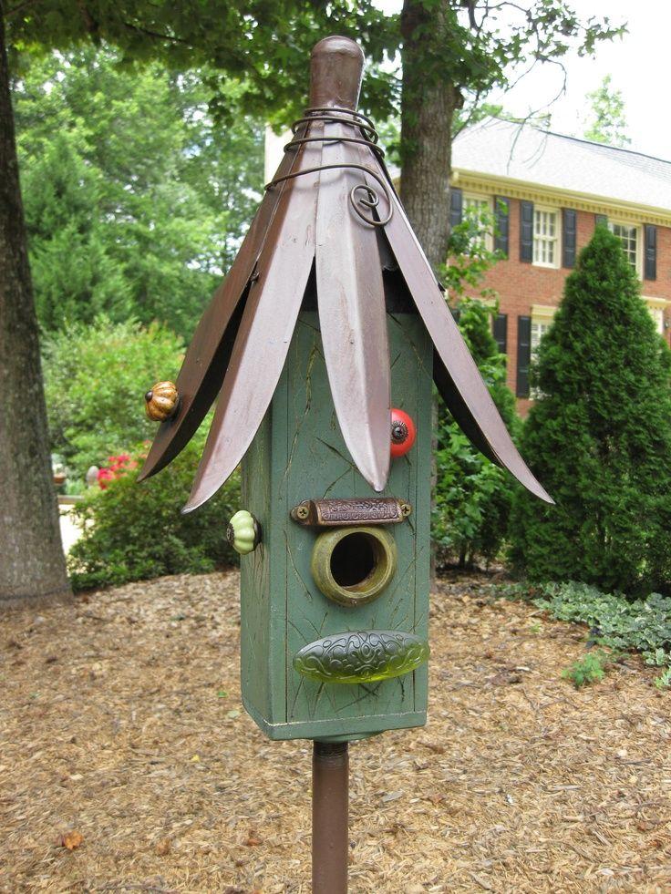 1766 best bird houses images on pinterest birdhouses for Creative birdhouses