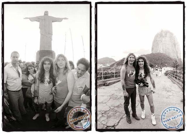 Rock in Rio 1985: o histórico (e atrapalhado) show ~ IRON MAIDEN 666 - BRASIL