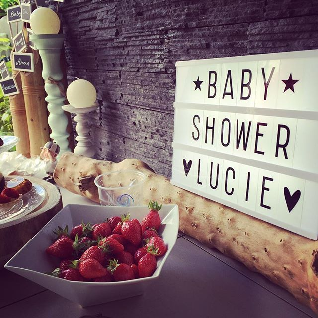 1000 id es sur le th me baby shower buffet sur pinterest d coration de table en sucrerie - Idee baby shower ...