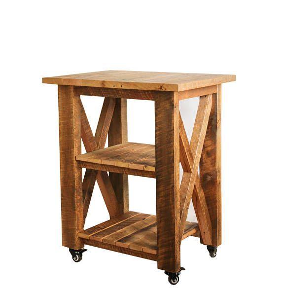 Gabinete del balanceo / de banco de trabajo madera recuperada