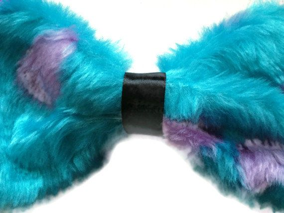 Monsters Inc. Sully Hair Bow by Bellabix on Etsy, £6.50