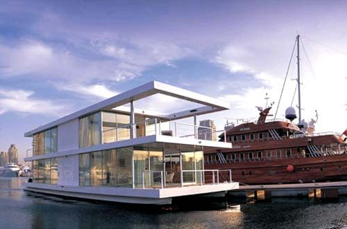 840 best y zen evler house boats images on pinterest for Minimalist house boat