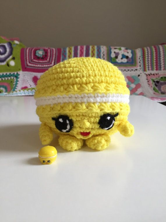 Shopkins Macca Roon  Crochet Pattern by Crochetkins on Etsy