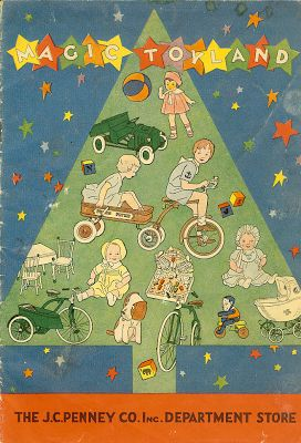 1931 The J.C. Penny toy catalog...
