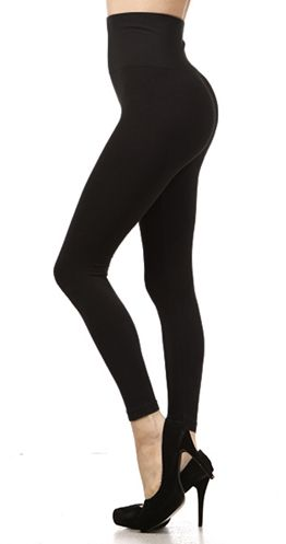 Tummy control leggings! These pants are MAGIC and will eliminate the dreaded muffin top that comes with wearing traditional leggings. Dress them up for date night with hubby, or wear them on a casual day of shopping! www.silvericing.com/meghan