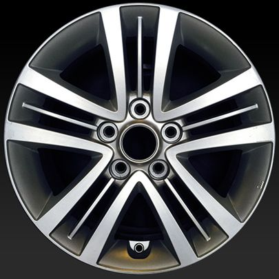 "Hyundai Tiburon wheels for sale 2007-2008. 16"" Silver rims 70752 - http://www.rtwwheels.com/store/shop/16-hyundai-tiburon-wheels-for-sale-silver-70752/"
