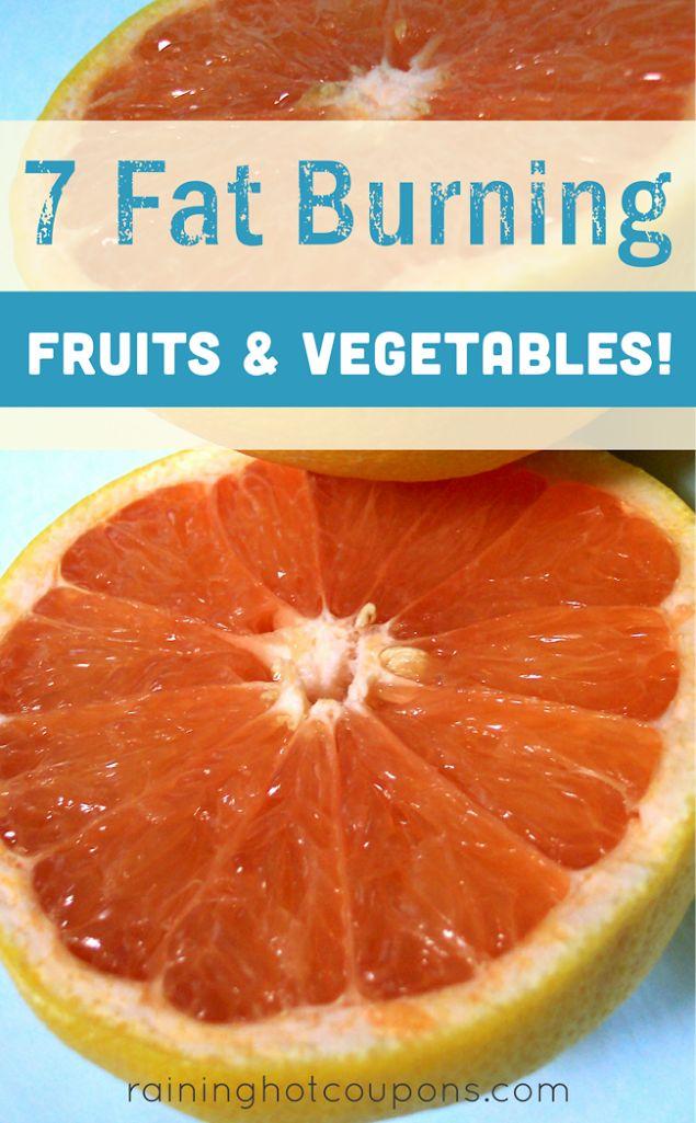 7 Fat Burning Fruits & Vegetables!