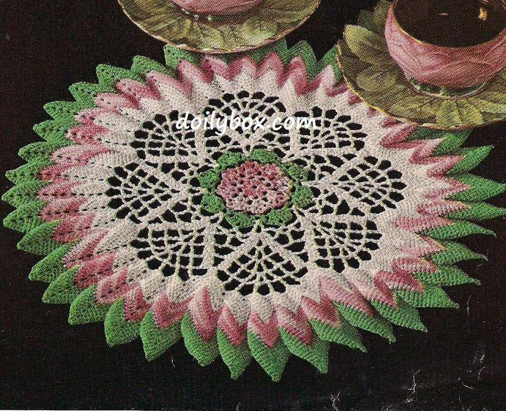 17 Best Images About Crochet Doilies & Tablecloths & Chair