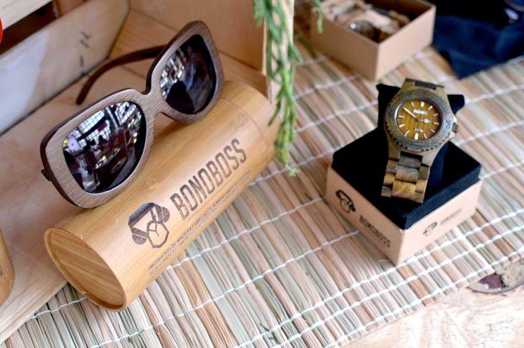 #Rapel #Lentes de sol hechos con bambu y #Kunza #reloj de #madera de #sandalo, encuéntralos en www.bonoboss.cl