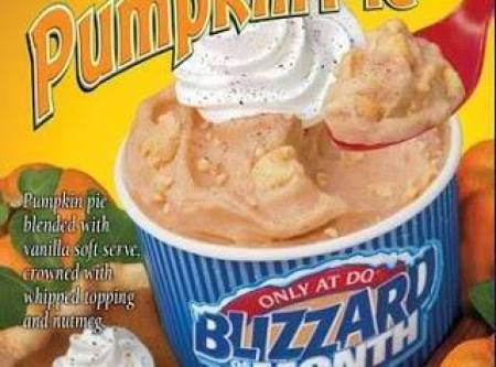 CopyCat DQ Pumpkin Pie Blizzard Recipe