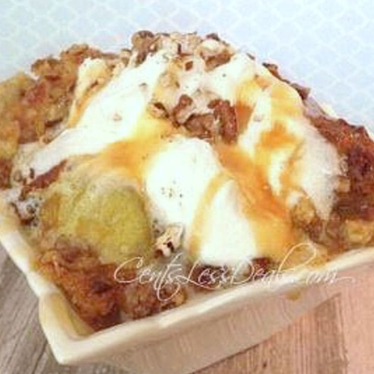 Caramel Apple Dump cake recipe with 4 ingredients! 4 | Just A Pinch Recipes