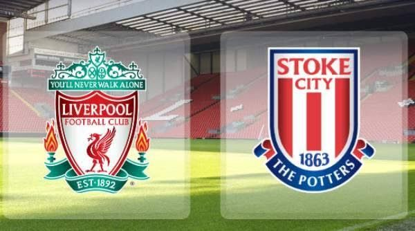 Liverpool unchanged, Peter Crouch back for Stoke to face his former side.