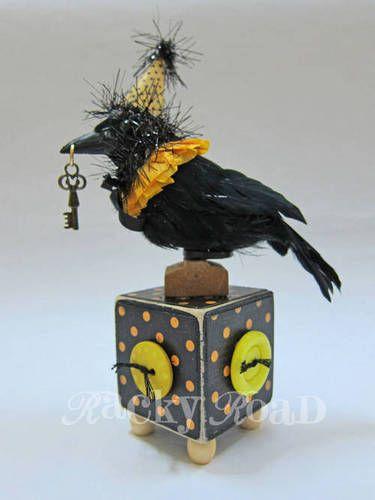 halloween crow - Halloween Crow Decorations
