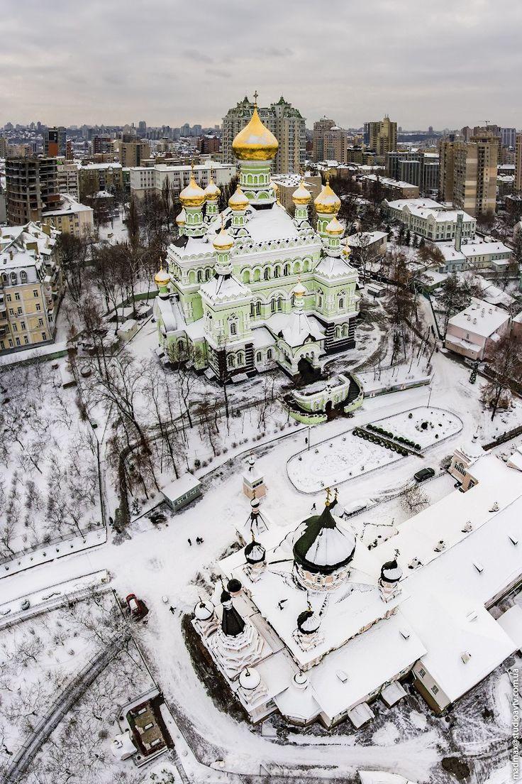 Intercession (Pokrovsky) Convent in Kyiv, Ukraine