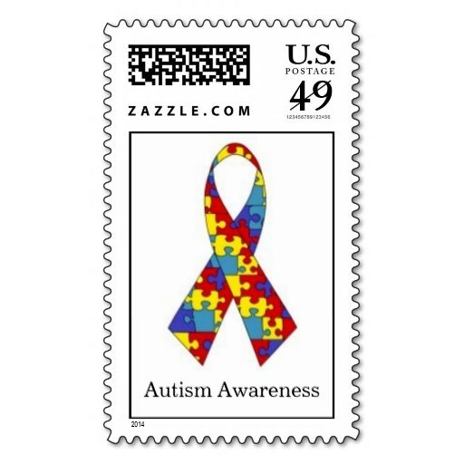 17 Best Images About Autism Postage Stamps On Pinterest