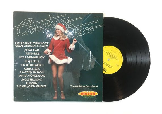 *Budget Copy - Please Read Condition*  The Mistletoe Disco Band ‎– Christmas Disco  Label: Holiday ‎– HDY-1910 Format: Vinyl, LP, Album Country: US Released: 1980 Genre: Funk / Soul Style: Disco  Tracklist:  A1 Sleigh Ride A2 Jingle Bells A3 Santa Claus Is Coming To Town A4 Jingle Bell Rock A5 Silver Bells B1 Winter Wonderland B2 Little Drummer Boy B3 Rudolph, The Red Nosed Reindeer B4 Joy To The World  Condition:  Please read before purchasing. Visually graded. The cover is in…