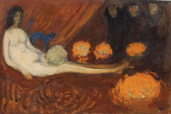 Boris Israëlevich Anisfeld. Study for the golden tribute 1908