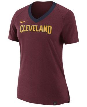 Nike Women's Cleveland Cavaliers Fan T-shirt - Red XXL