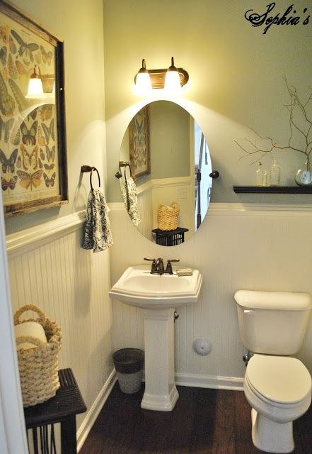 17 best images about creating a small stylish powder room Beautiful bathrooms and bedrooms magazine