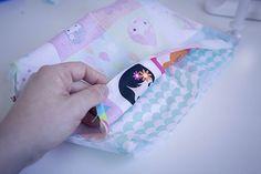 Tutorigabrielle el Petit sac cabas fillette - couture - Patrons de couture chez Makerist
