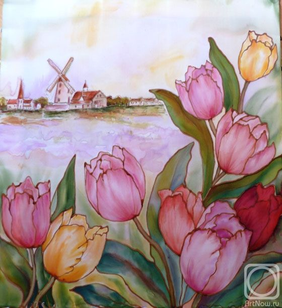 6492 Best Pintura Sobre Seda Images On Pinterest
