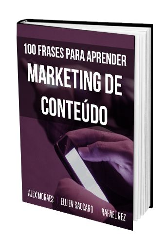 ebook 100 frases para aprender Marketing de Conteudo
