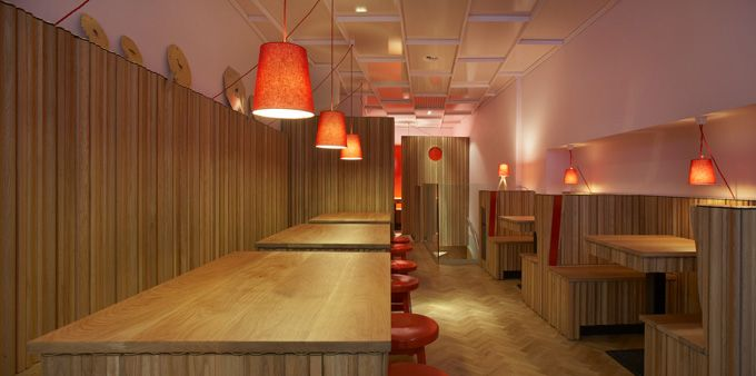 Asian Restaurant Design of Rosa's From Thailand - Best Home Gallery, Interior, Home Decor