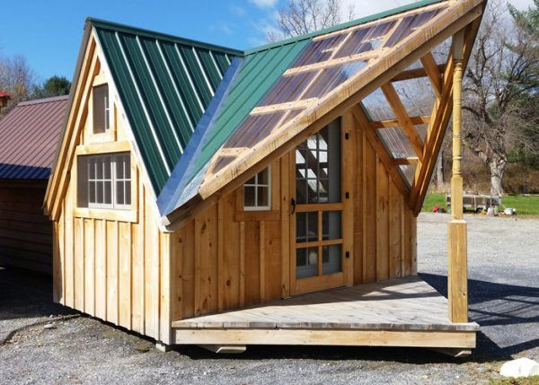 Writers Cottage Writer S Shed Small Wood Cabins Tiny House Kits Shed Shed Plans
