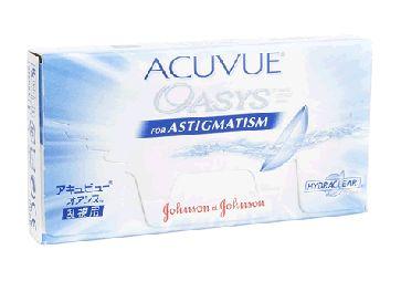 Acuvue Oasys para Astigmatismo (Caja con 6 Lentes de Contacto) - Lentematic  Los lentes de contacto Acuvue Oasys para Astigmatismo proveen una comodidad excepcional durante todo el día gracias a la tecnología Hydraclear Plus, la tecnología de siguiente generación que crea lentes mas húmedos y ultra suaves.