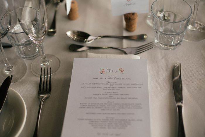 Table setting captured by Sarah Godenzi @ Yarra Ranges Estate
